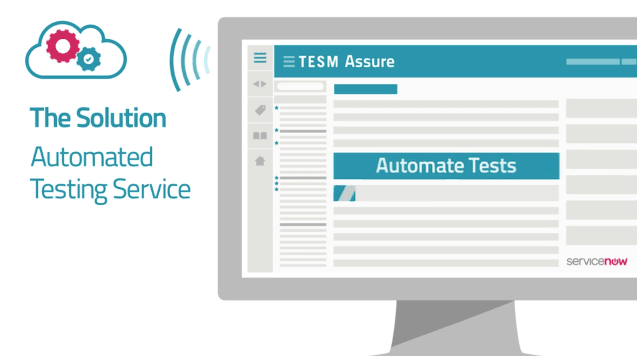 TESM Assure infographic animation.