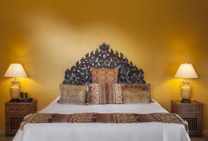 Toucan Hill Mustique, Bedroom.