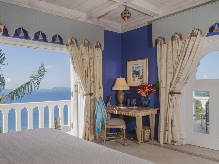 Toucan Hill Mustique, small bedroom.